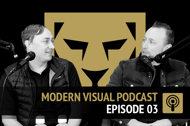 Modern Visual Podcast Episode 3 - Short Term vs Long Term in Marketing